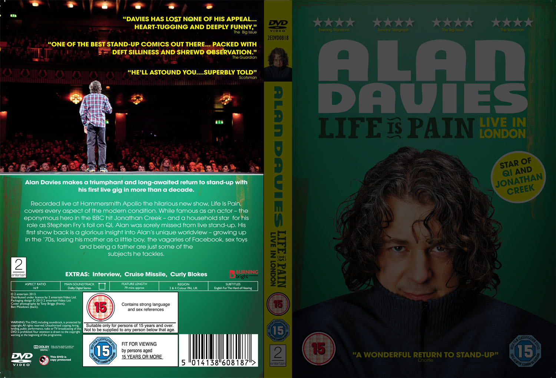 Alan Davies Life is Pain