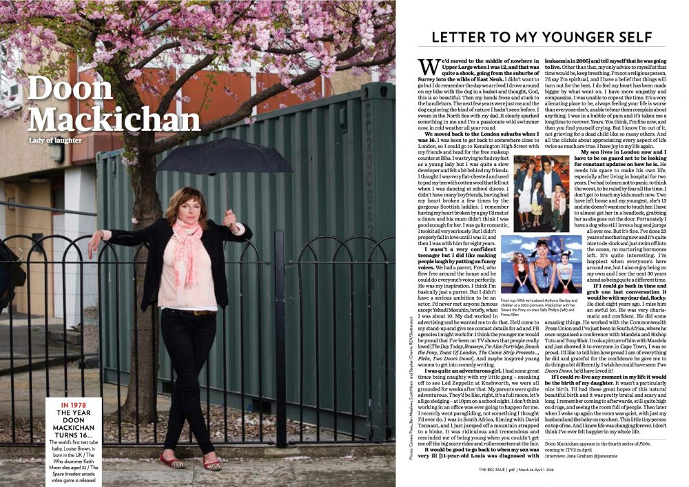 Doon Mackichan - Big Issue